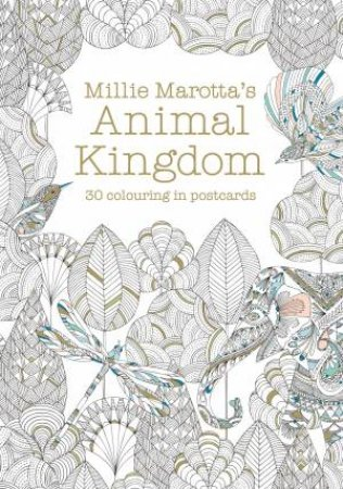 Millie Marotta's Animal Kingdom Postcard Book