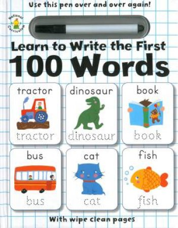 Learn To Write The First 100 Words
