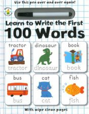 Learn To Write The First 100 Words by Various