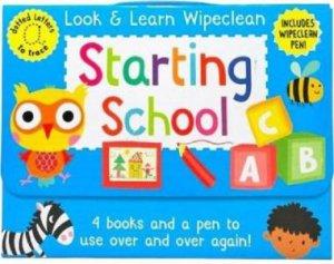 Look & Learn Wipeclean - Starting School