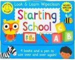 Look & Learn Wipeclean - Starting School by Various