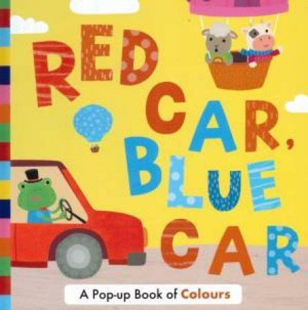 Red Car, Blue Car Pop Up