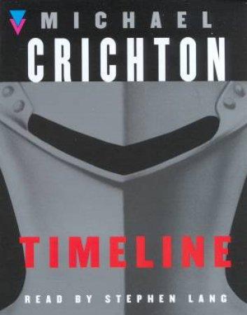 Timeline - Cassette by Michael Crichton