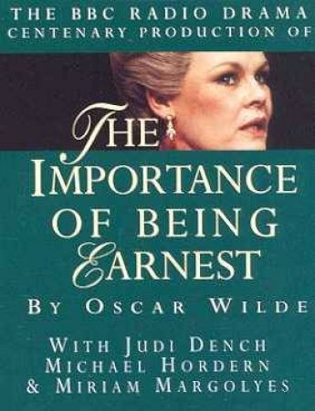 The Importance Of Being Ernest - Cassette by Oscar Wilde