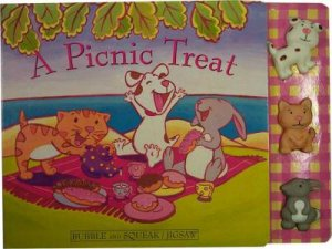 A Picnic Treat - Jigsaw Board Book by Various