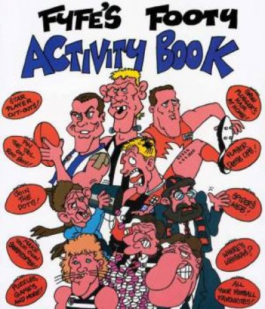 Footy Activity Book by Andrew Fyfe