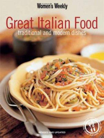 Australian Womens Weekly: Great Italian Food by Various