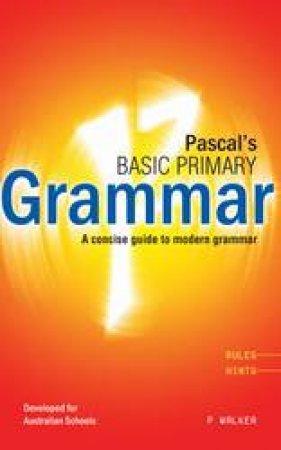 Pascal's Basic Primary English Grammar