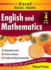 Excel Basic Skills English  Mathematics Core Book  Year 4