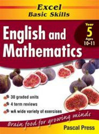 Excel Basic Skills: English & Mathematics Core Book - Year 5