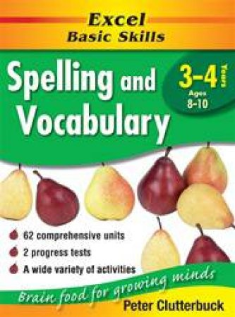 Excel Basic Skills: Spelling & Vocabulary - Years 3 - 4