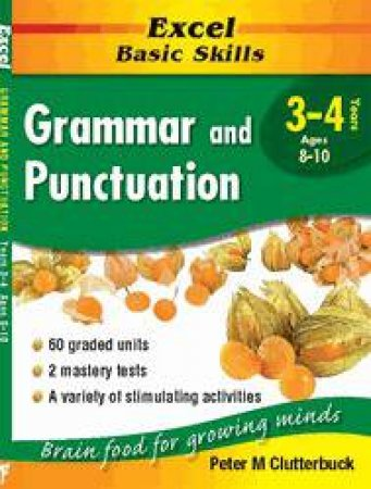 Excel Basic Skills: Grammar & Punctuation - Years 3 - 4