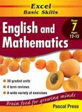 Excel Basic Skills English  Mathematics Core Book  Year 7