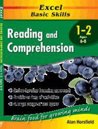 Excel Basic Skills: Reading & Comprehension - Years 1 - 2