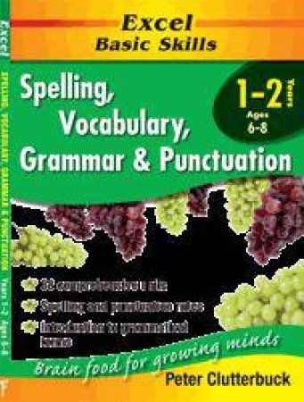 Excel Basic Skills: Spelling, Vocabulary, Grammar & Punctuation - Years 1 - 2