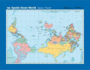 Upside Down World Jigsaw Map 96 Pieces By Various 9781865002590