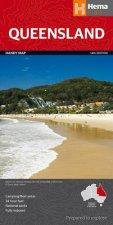 Hema Handy Map Queensland 14th Ed