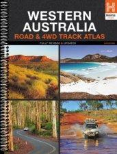 Hema 4WD Western Australia Road  4WD Track Atlas 3rd Ed