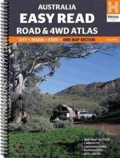 Hema 4WD: Australia Easy Read Road & 4WD Atlas, 11th Ed. by Various