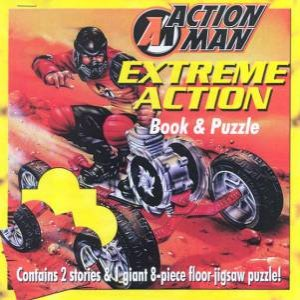 Action Man: Extreme Action Book & Floor Puzzle by Various