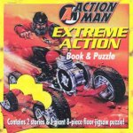Action Man Extreme Action Book  Floor Puzzle