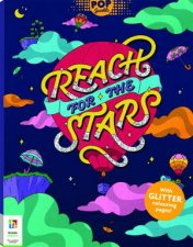 Pop Sparkle Reach For The Stars Colouring Book