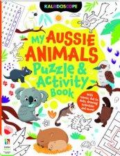 Kaleidscope Aussie Animals Activity Book