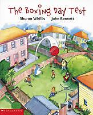 The Boxing Day Test by Sharon Whillis