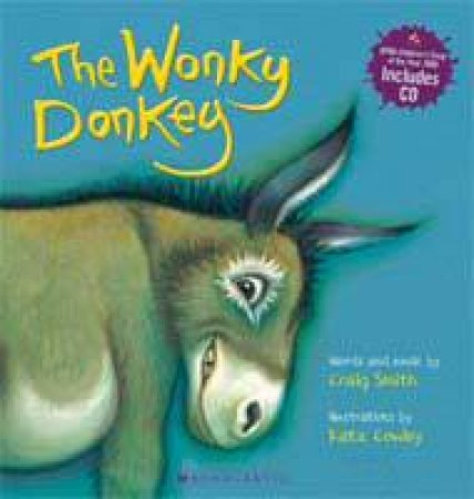 The Wonky Donkey plus CD by Craig Smith