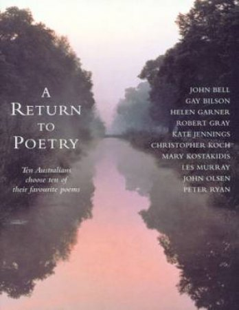 A Return To Poetry
