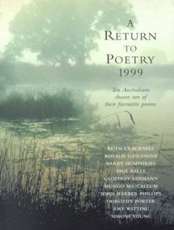 A Return To Poetry 1999