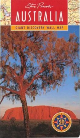 Giant Map Of Australia.Australian Discovery Map Giant Wall Map Of Australia By Steve Parish 9781876282264 Qbd Books