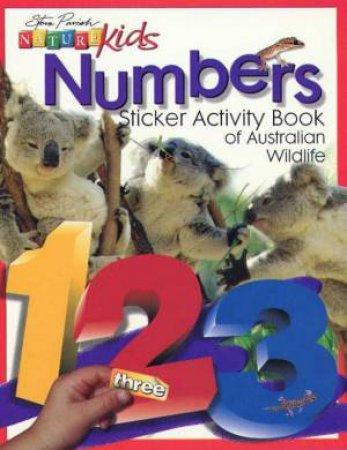 Nature Kids: Sticker Activity Book Of Australian Wildlife: Numbers