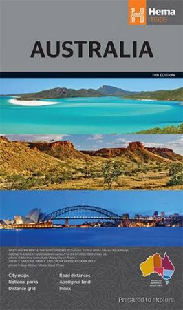 Hema Maps: Australia (Large), 11th Ed.