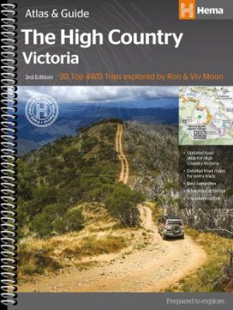 Hema Atlas & Guide: The High Country Victoria, 3rd Ed.