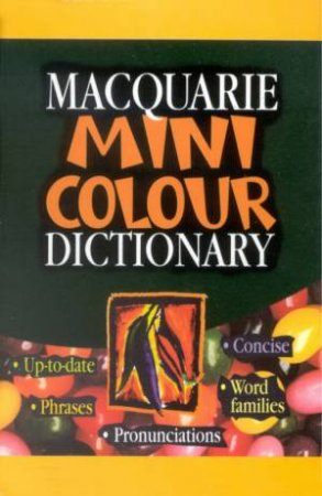 Macquarie Mini Colour Dictionary by Various