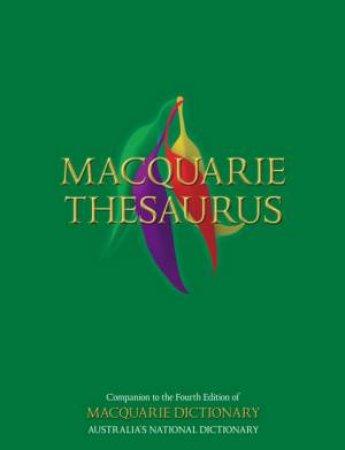 Macquarie Thesaurus