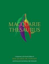 Macquarie Thesaurus by None