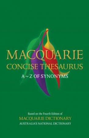 Macquarie Concise Thesaurus, 2nd Ed