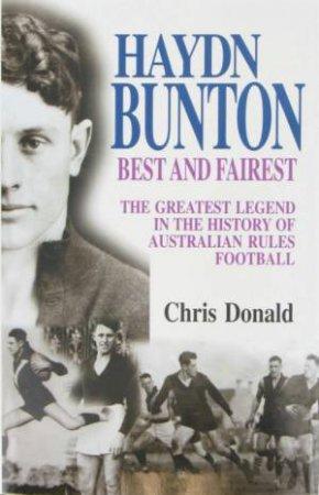 Haydn Bunton - Best & Fairest by Chris Donald