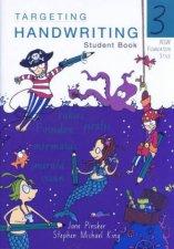 NSW Targeting Handwriting Student Book 3