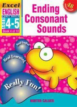 Ending Consonant Sounds - Ages 4 - 5
