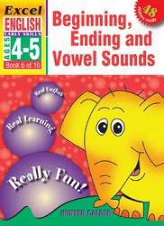 Beginning, Ending & Vowel Sounds - Ages 4 - 5