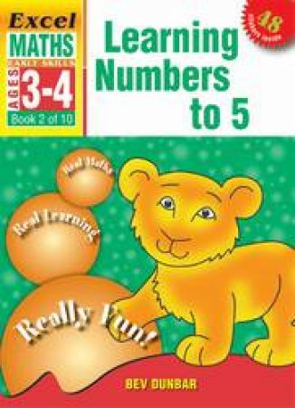 Learning Numbers To 5 - Ages 3 - 4