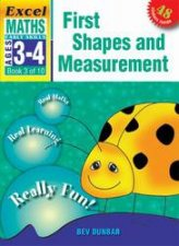 First Shapes And Measurement  Ages 3  4
