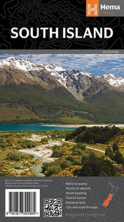 Hema Maps: South Island New Zealand by Various