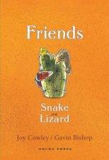 Friends Snake and Lizard