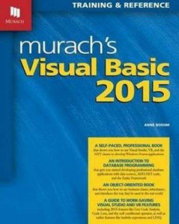 Murachs Visual Basic 2015