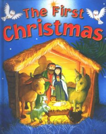 The First Christmas: A Pop-Up Book by Gill Davies