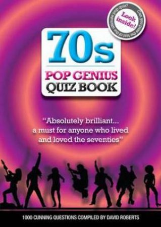 70s Pop Genius Quiz Book
